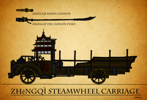 Steamwheel Carriage Arsenal by Athalai-Haust