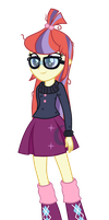 [Commission] Equestria Girls - Moondancer by MixiePie