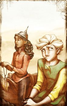 Shasta and Aravis by Kecky
