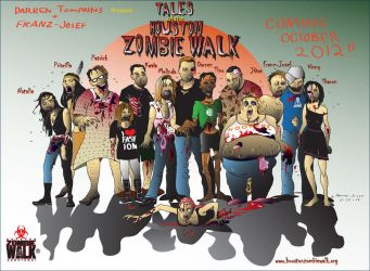Tales From Houston Zombie Walk Downtown 2012 by howsthatwork1