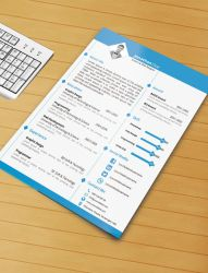 Resume Template With Ms Word File ( Free Download) by designphantom