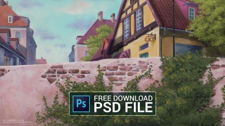 Free PSD file - Kiki's Delivery Service by qs2435