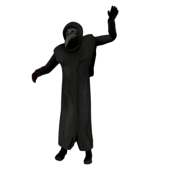 SCP-049/Plague Doctor Render by Vex2001