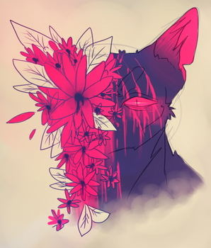Scar flower by Aria-Hope