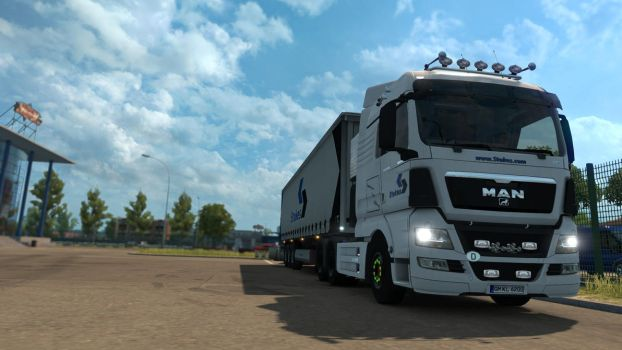 ETS 2 - MAN TGX 33.680 - 1 by HappyLuy