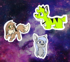Variety of New Faces by Kiko-The-Eevee