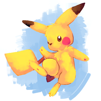 Pikachu by kiwisco