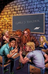 Grimm Fairy Tales 113B by StephenSchaffer