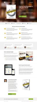 eBook Landing Page by NilsHuber