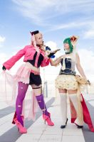 MACROSS // The Wings of Goodbye: Sheryl and Ranka by Rael-chan89