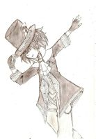 Mad Hatter, at your service by A-Black-Angel