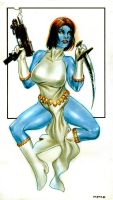 Mystique by Reverie-drawingly