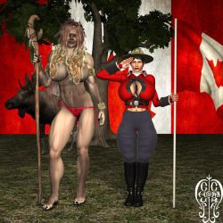 Happy Canada Day 2018 by Chup-at-Cabra