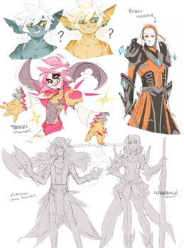 sketchdump0007 by guild-snail