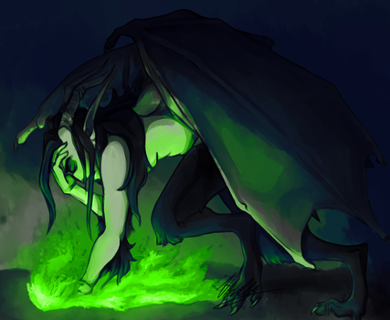 green flames by BabygobooM