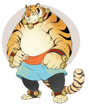 Adoptable: Pudding Tiger *Sold* by Chopstuff