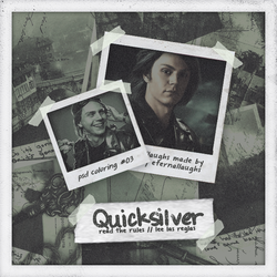 QUICKSILVER | psd coloring #03 by Indieternal