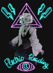Neon Witch by TentacleWaitress