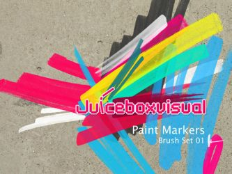 Paint markers brush set by LDN755
