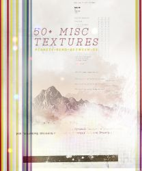 50+ miscellaneous textures by planetsbend05