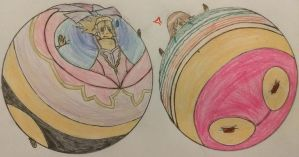 CM: Inflated Totori and Ceci by NepuOfInflation