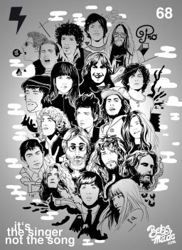 Heros of sixties by Bobsmade