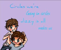 Larry Stylinson - Circles Are Dizzy by xCheesyPie