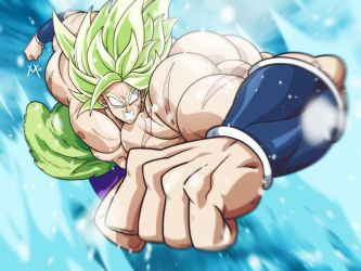 Broly by Mikuloctopus