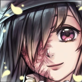 [Icon Commission] Peaceful Hanako by white-angel-ariah