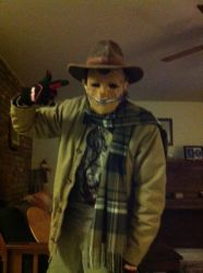 Zipper Face: the twisted scarecrow by SteamHead1880