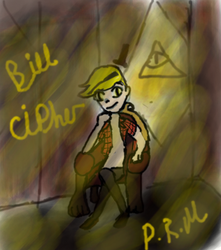 Bill Cipher by ZeldaDairylover54