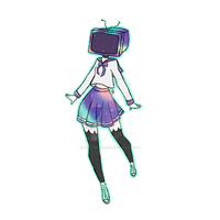 Tv Head Galaxy Sailor Suit by Taki-chanEDM