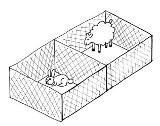 Rabbit and sheep - Maths by hippo2