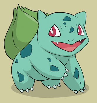 bulbasaur by replacer808