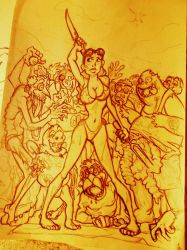 The attack of Horny Zombies!!! by Sommum