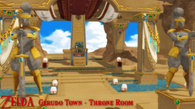 (MMD Stage) Gerudo Town - Throne Room Download by SAB64