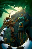 Ringtail Cafe Magazine Cover by Dreamkeepers
