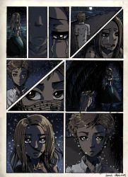 Siren Comic pg 1 Colored by HawkRose00