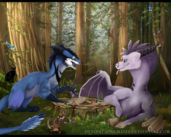 D and D: Dragons and more Dragons by Deviant-Soulmates
