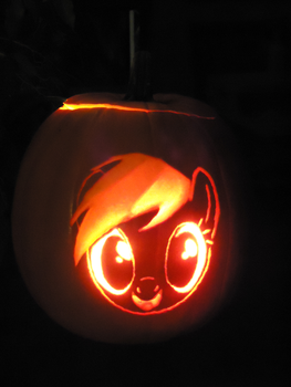 Pumpkinsbylisa 507 114 Rainbow Dash Pumpkin By Scoutaloo
