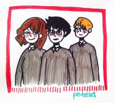 Golden trio - traditional by petesd