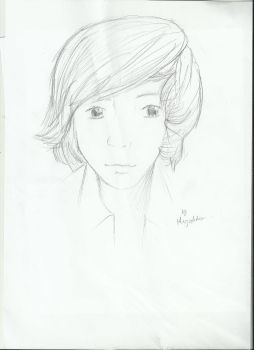First time trying something realistic Harry Styles by AyuTheAngel