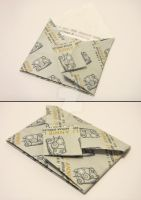 Origami Envelope with Message by annielijewellery