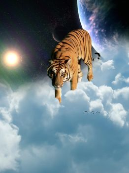 Interstellar Travler, The Tiger by artistaaron28