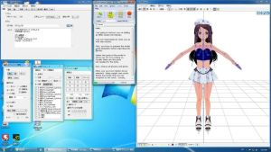 MMD editing tutorial.  Preparing your model Part 1 by bobbeebs