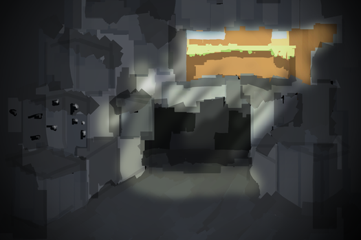 Exposed Cave - Minecrafty Concepts by Cocololzzz