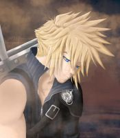 Cloud Strife by MSSProductions