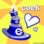 Caek for electricnet  :D by shadowed-light-waves