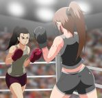 Sara in a fight by ballionaire
