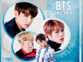 PNG PACK: BTS #4 by Hallyumi